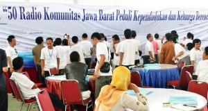 Deklarasi Radio Komunitas Peduli KKB Jabar